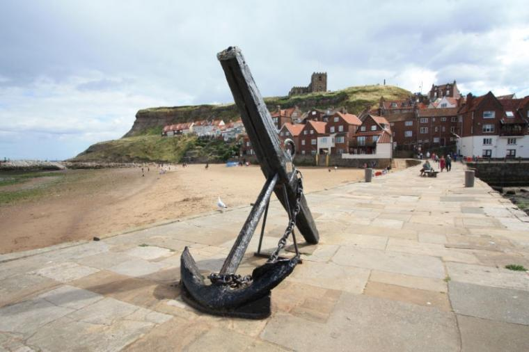 The old side of Whitby with its cobbled streets