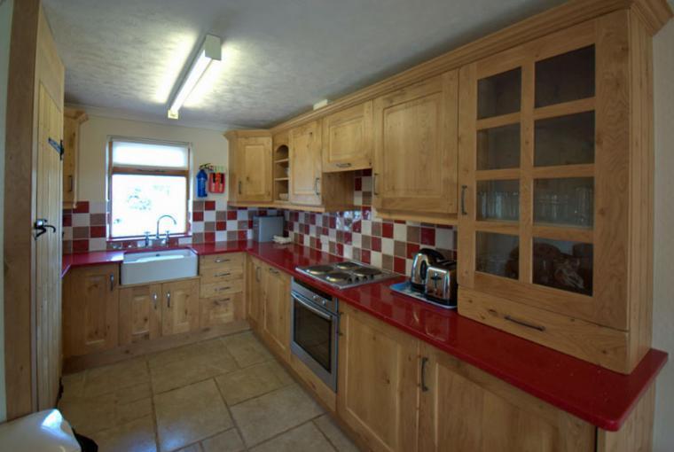 Mymbyr Cottage kitchen Gwynedd Wales