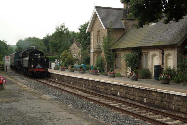 Sleights train station