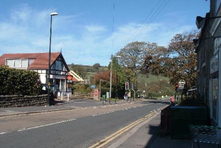 Sleights main road