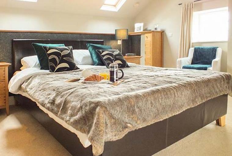Well-presented bedrooms