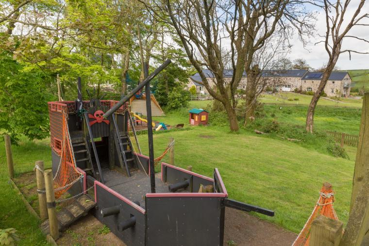 Extensive play area on site