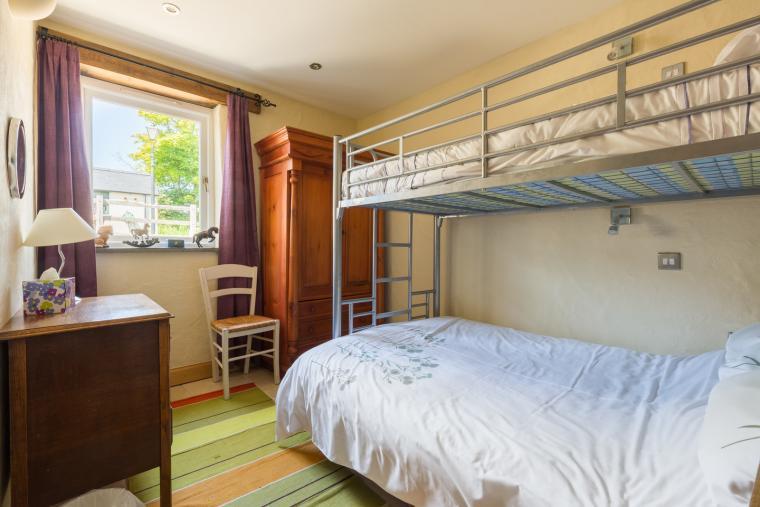 Fun bunkbed room downstairs