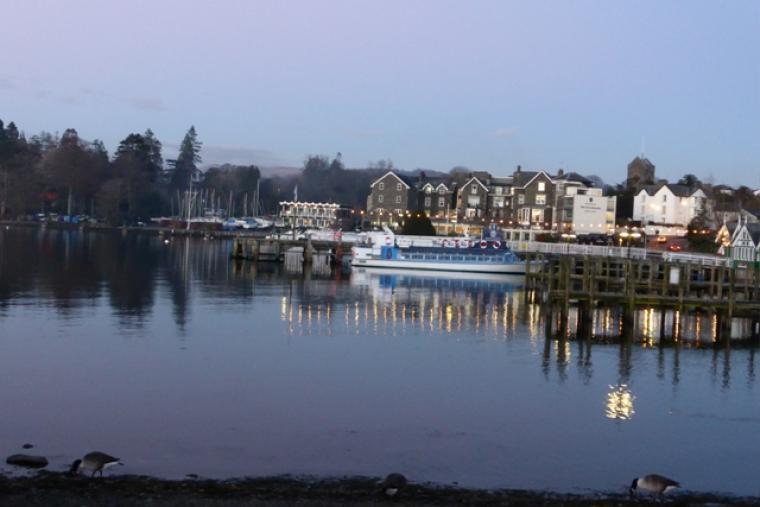 Plenty of great bars, restaurants & pubs in bustling Bowness village