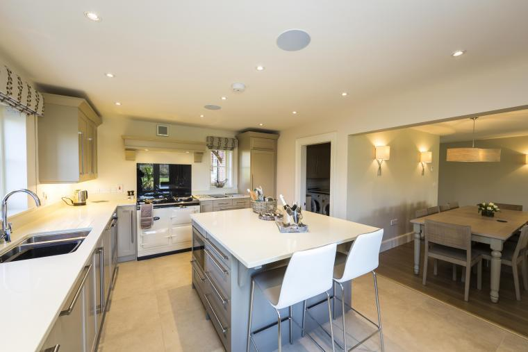 Holiday cottage with a dream kitchen