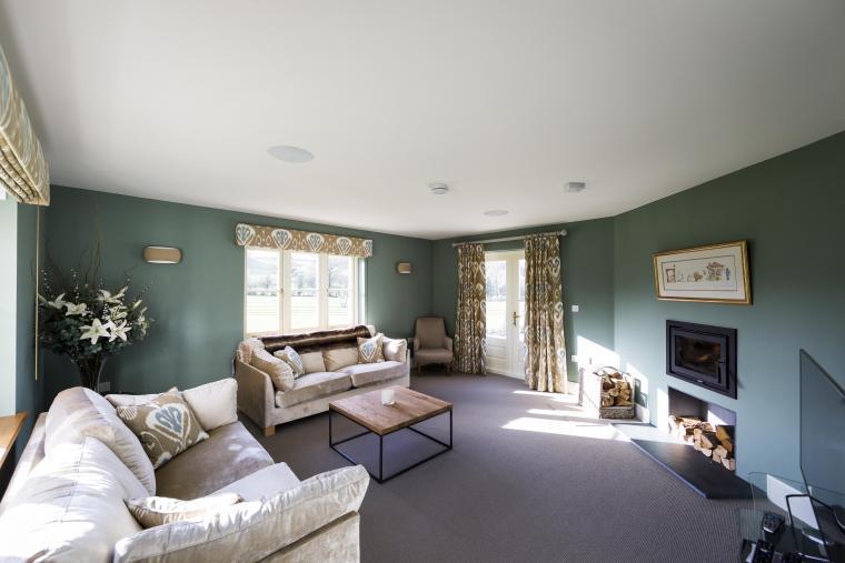 Herefordshire cottage modern living room