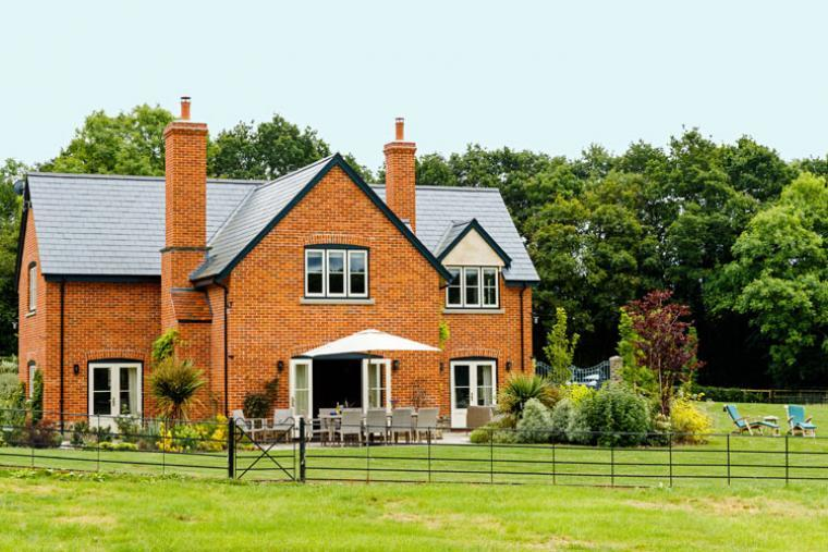 view of herefordshire holiday home in Checkley