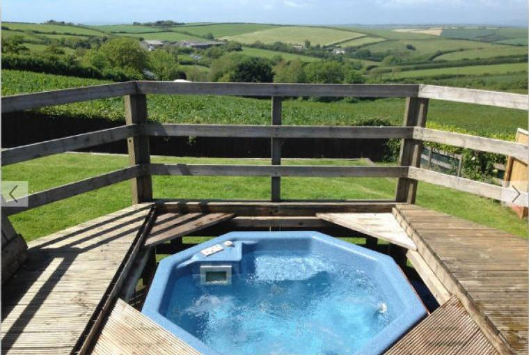 Hot Tub at Tubbs Delight South Devon