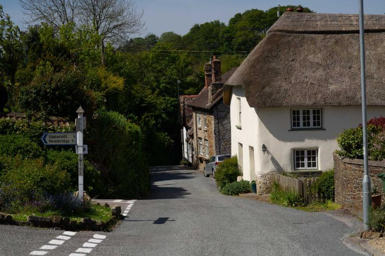 Tawstock Village near Barnstaple in Devon