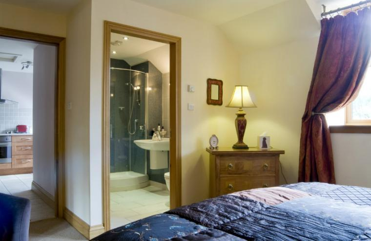 Bedroom with ensuite facilities