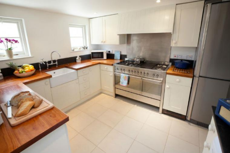 Stylish fitted kitchen