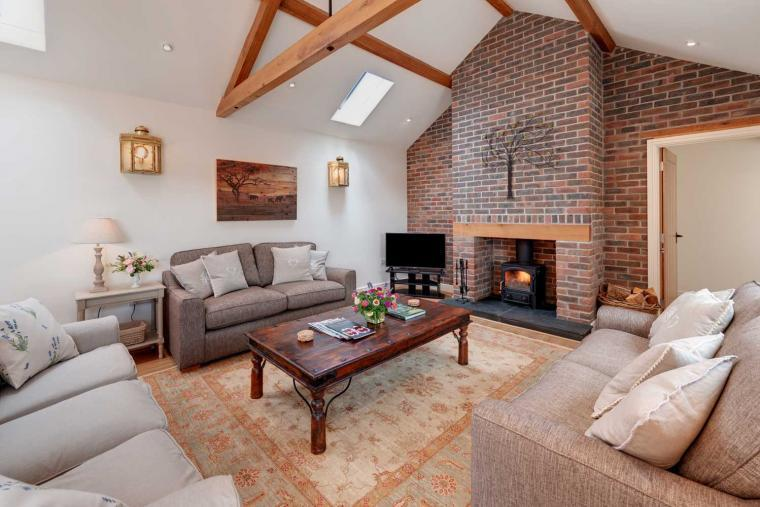 Stay in luxury accommodation at Langford Valley Barn