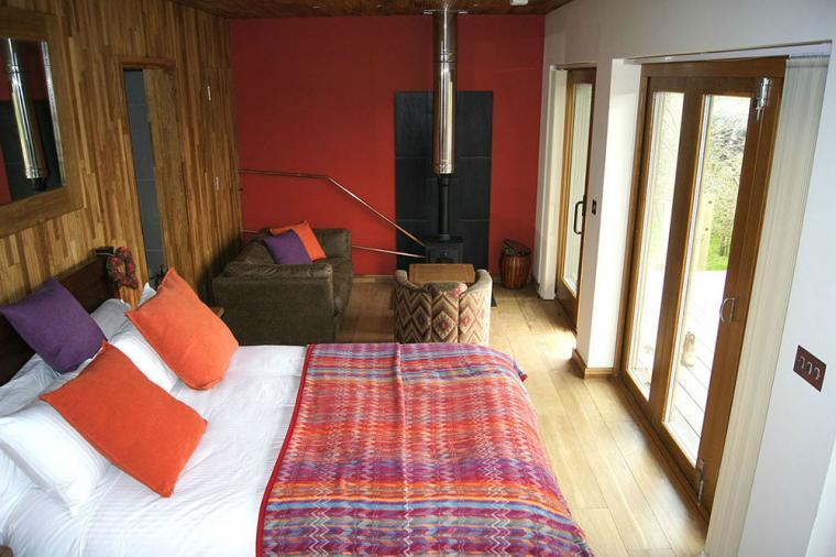 Couples Lodges in the Chilterns Oxfordshire