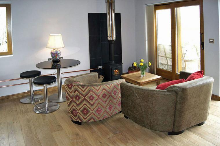 Stylish Lodges with a woodburner