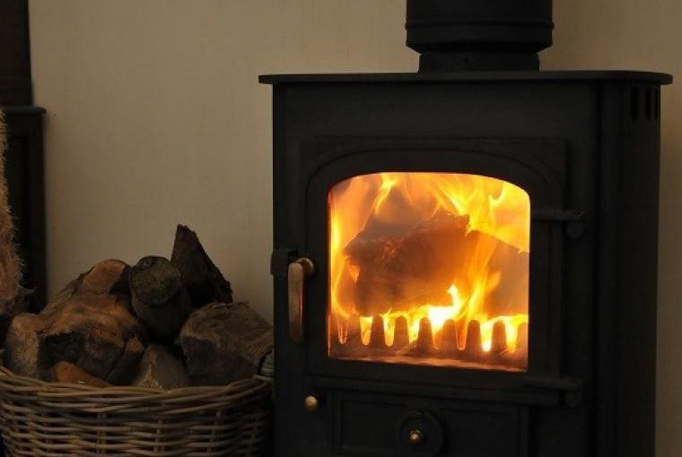 Hedgehog Cottage Wood Burner