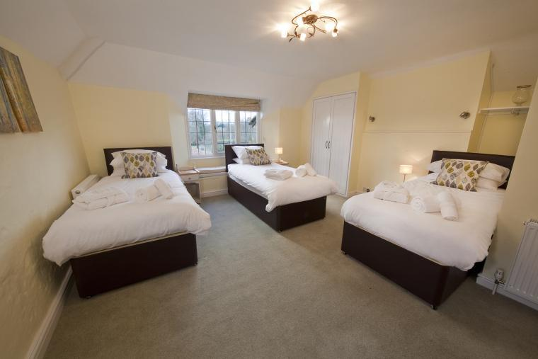 Roomy accommodation