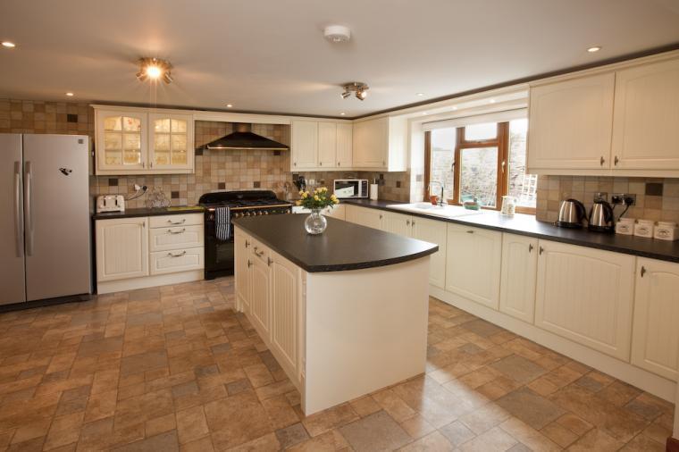 Luxurious spacious kitchen