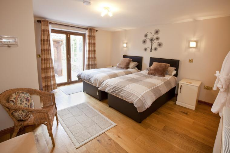 Another of the comfortable bedrooms