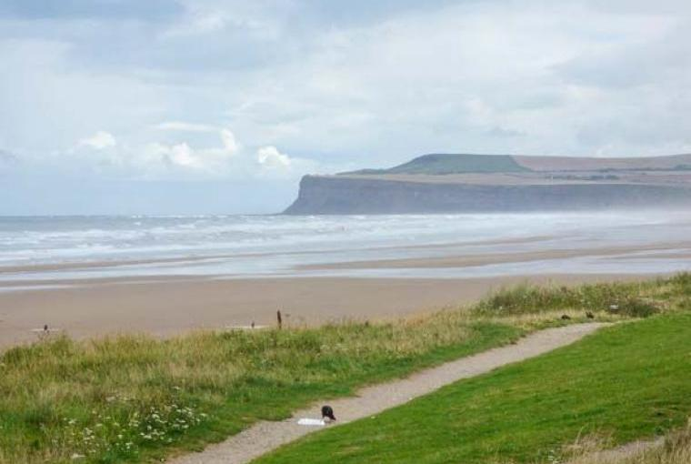 Stunning Yorkshire coast scenery