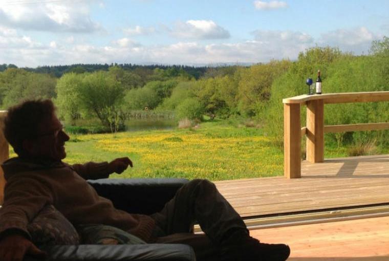 Veranda with wonderful countryside views