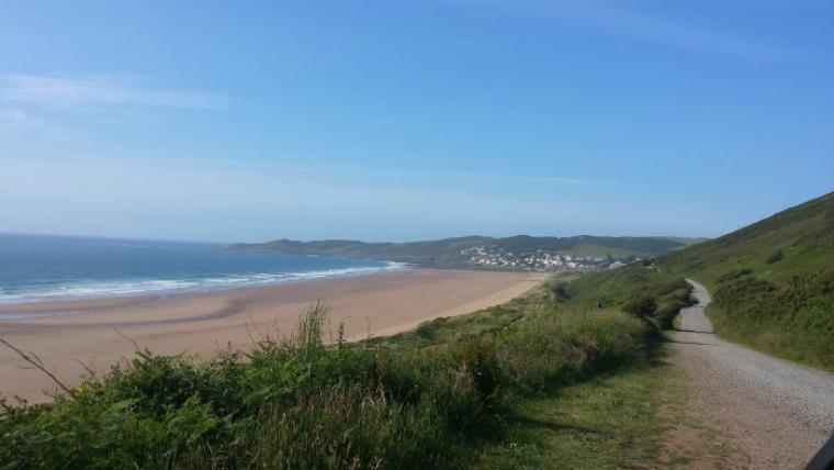 Visit the beautiful Devon coast