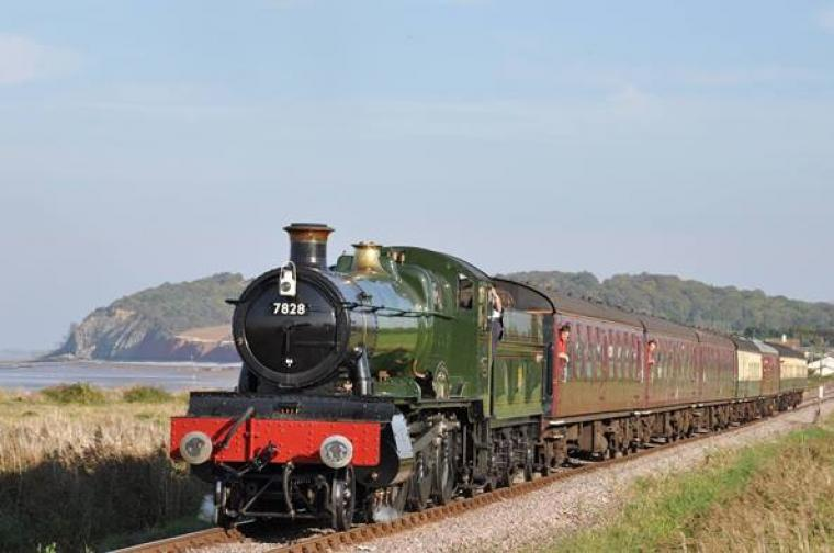 Travel To The Seaside On The West Somerset Railway