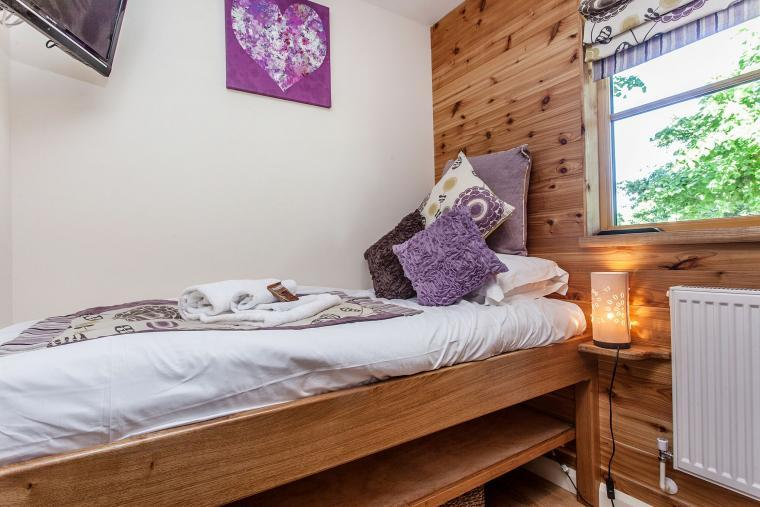 Hand Made Oak Twin Beds