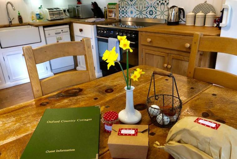 Welcome Treats and Waterperry Kitchen