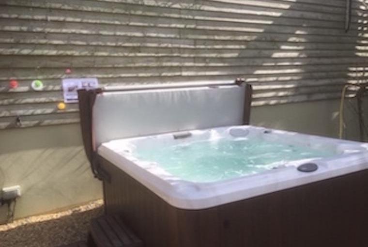 Inviting Warm Bubbly Hot Tub