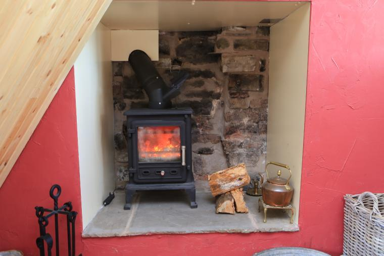 Log Burner for those comfy nights in