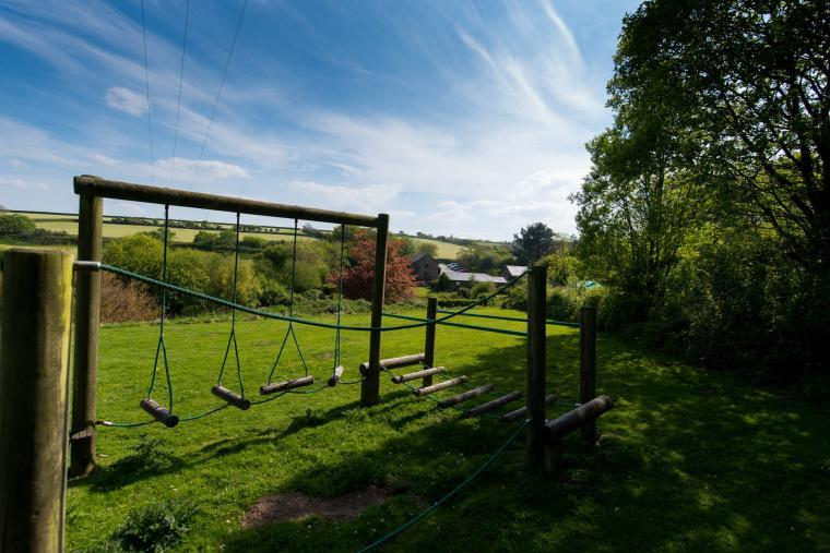Childrens play area, Wheel farm cottages