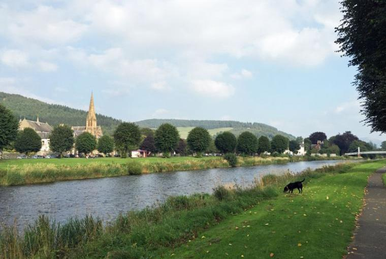 Holiday home by River Tweed