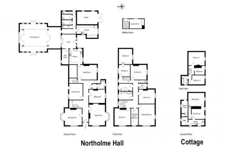 Floor Plan for Northolme Hall