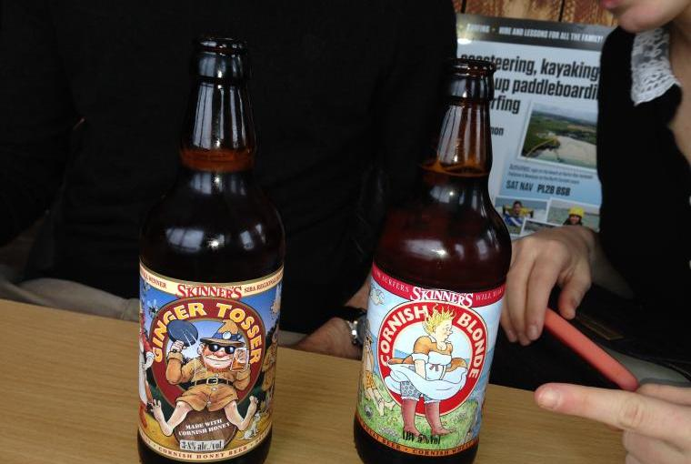 Craft beers at Youth Hostal