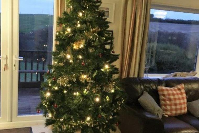 Christmas cottage rental Cornwall