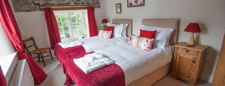 Whitelady House Bedroom, Devon