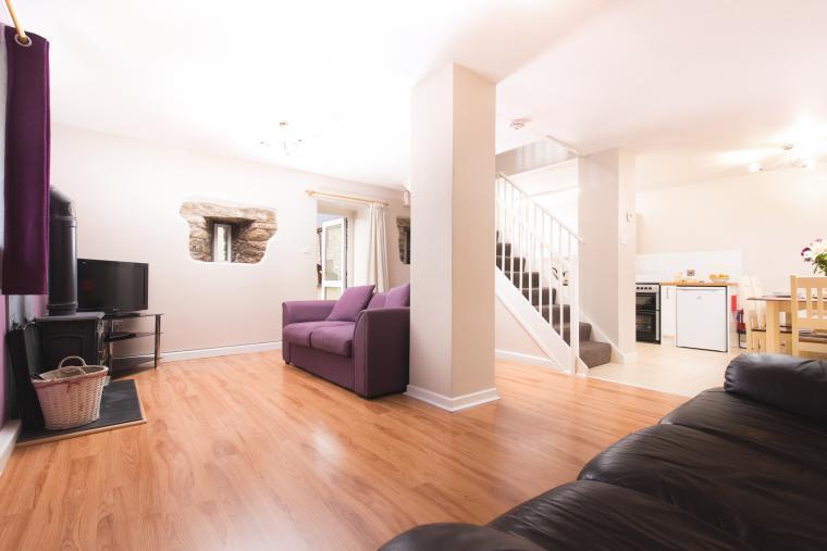 Duror Open Plan Living Area