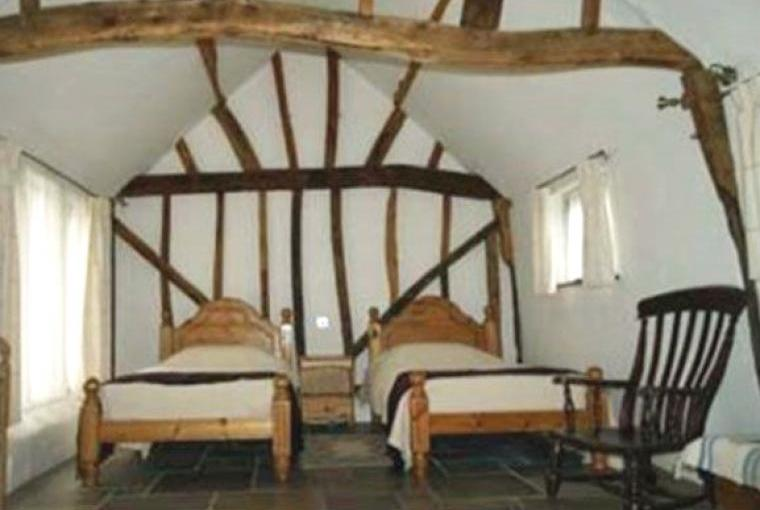 Lower Bassibones Barn Twin Bedroom