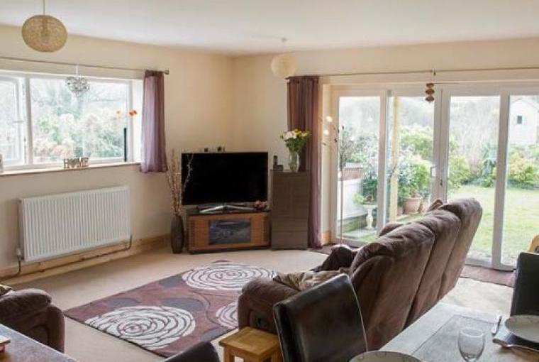 Open plan living area, Summerfield House