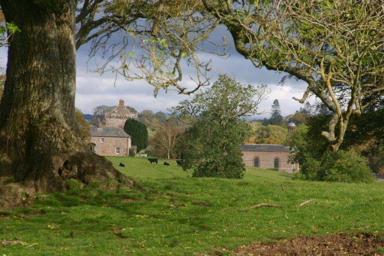 Kirkandrews House in glorious parklands