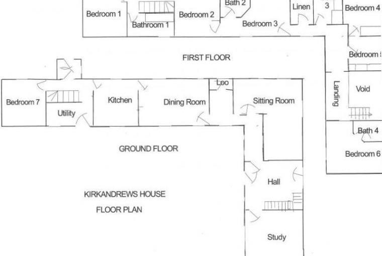 Kirkandrews House Floorplan