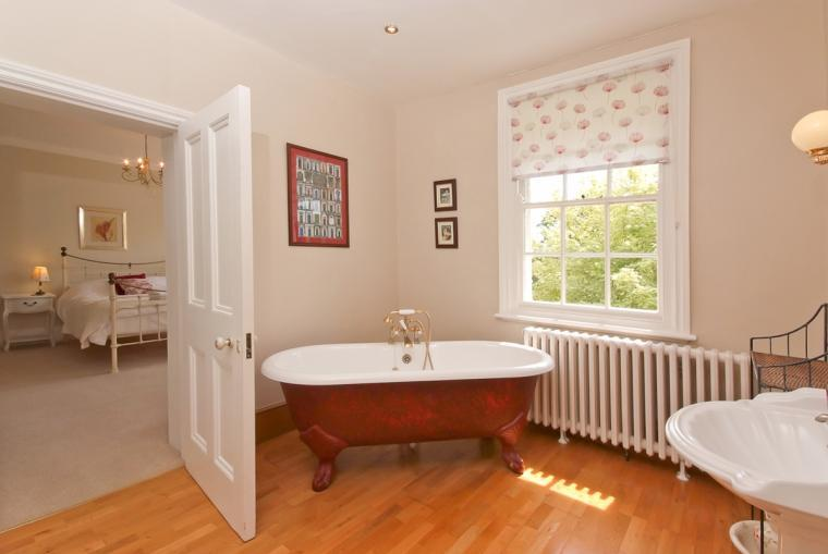 Ensuite to Master Bedroom at Ludlow Manor House