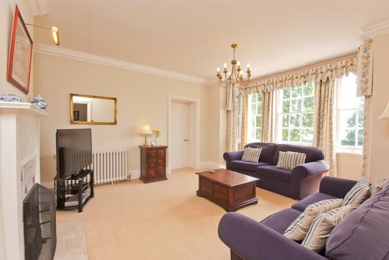 TV lounge at Ludlow Manor House