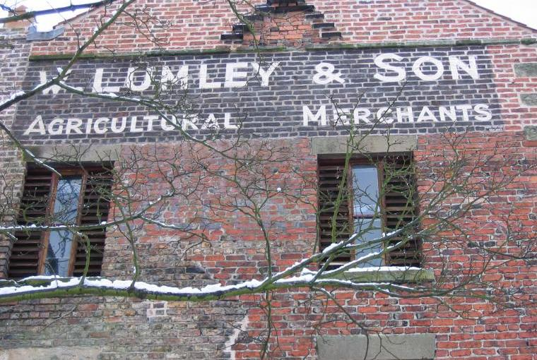 W.Lumley and sons sign High Mill