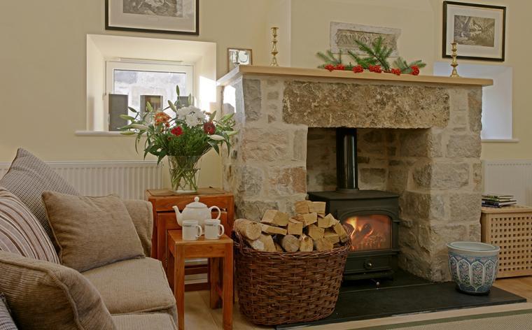 Warming woodburner