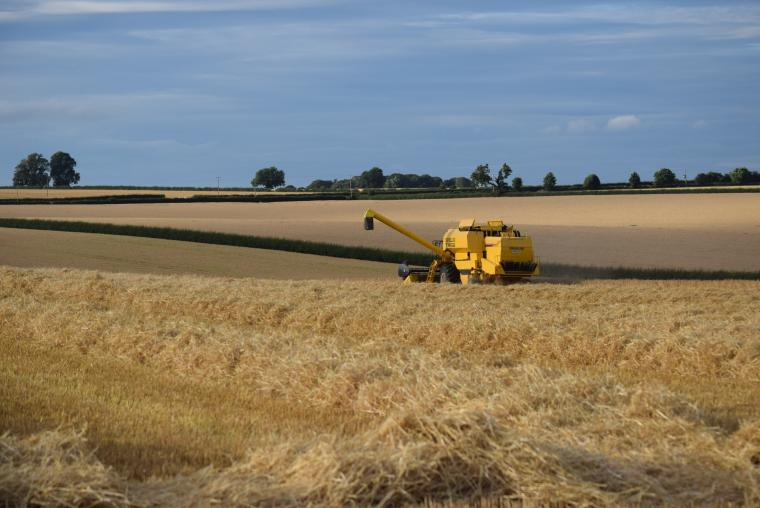 We are arable farmers on the Yorkshire Wolds