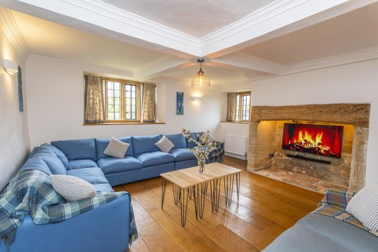 Relax and unwind at Higher Burrow Farmhouse