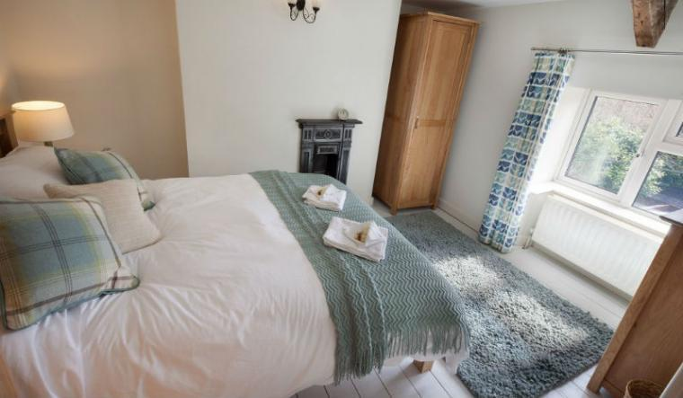 Comfortable bedrooms at Ford Hill Cottage