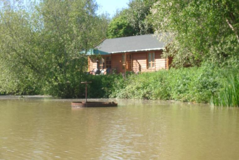 Lodge with lake view
