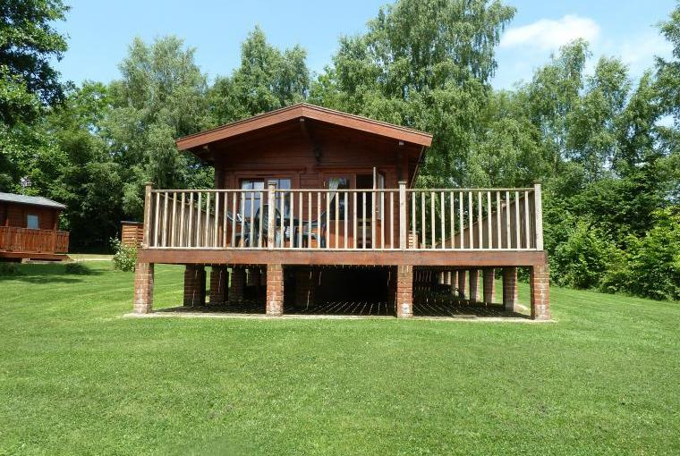 Comfortable high quality lodges